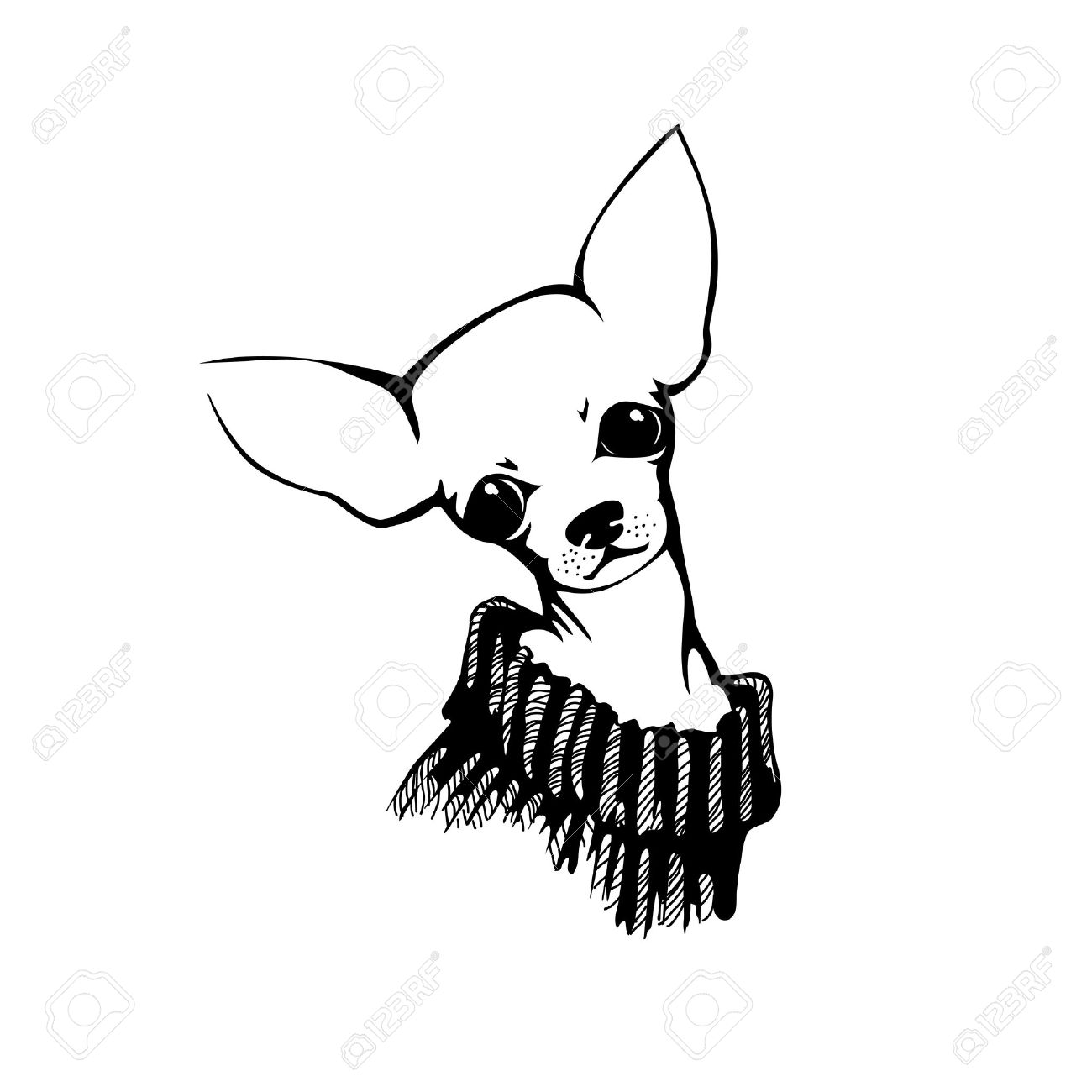 1300x1300 Chihuahua Clipart