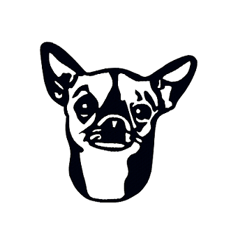341x348 Chihuahua Designs By The Stitch