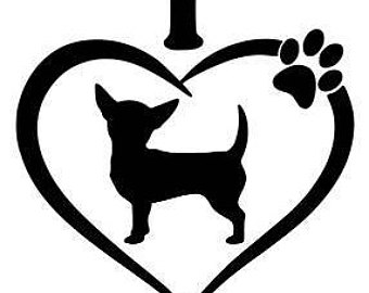 340x270 Chihuahua Clipart Black And White Many Interesting Cliparts