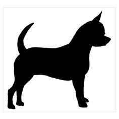 Chihuahua Silhouette Art