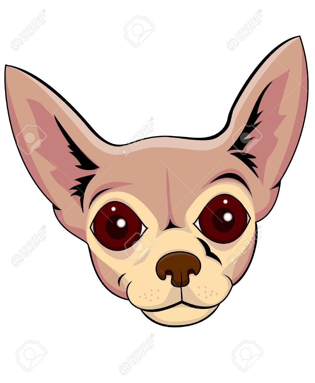 1072x1300 Chihuahua Clipart Face
