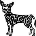 125x126 Vector Fashion Dog Chihuahua Breed Smiling Stock Vectors