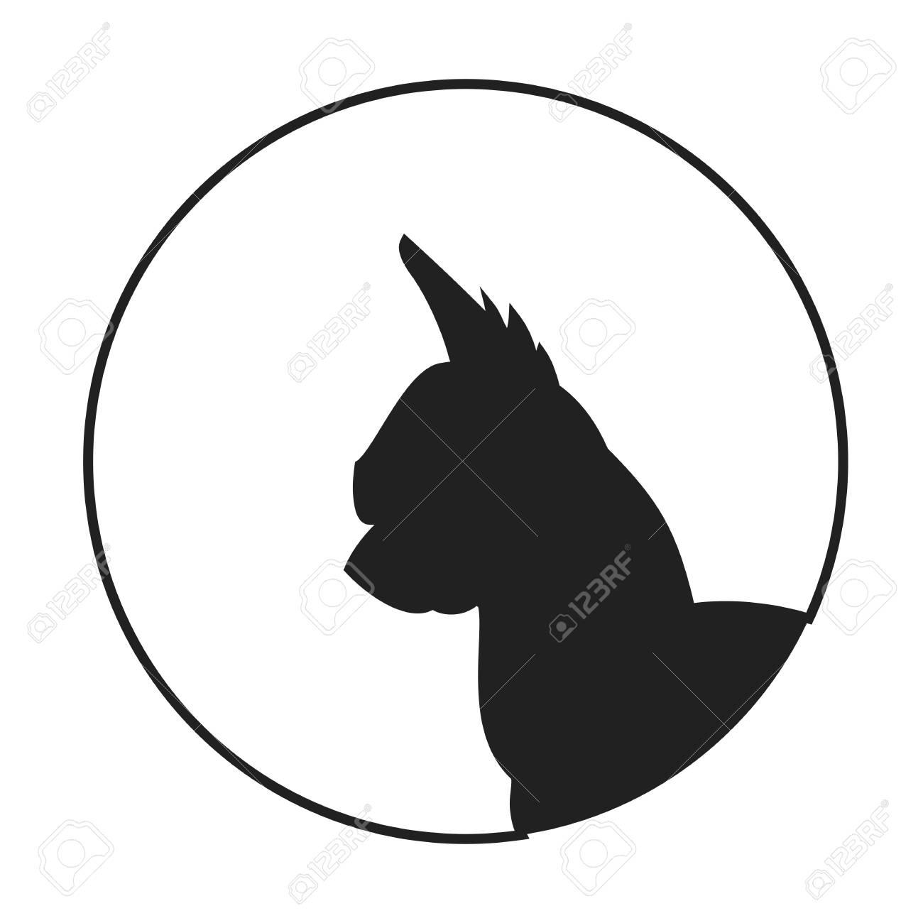1300x1300 Vector Illustration Of Chihuahua Head. Vector Illustration