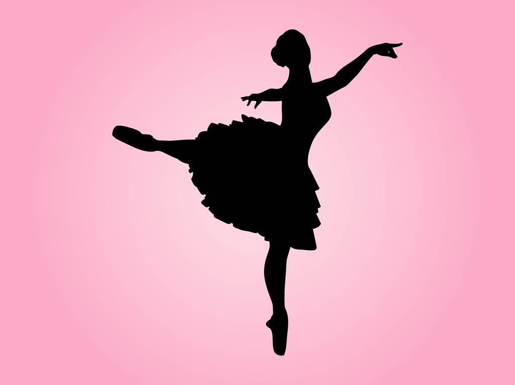 1024x765 Dancing Ballerina Silhouette Free Vectors Ui Download