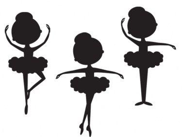 375x281 Silhouette Ballerina Clip Art Meylah Ballerinas Tone Clipart