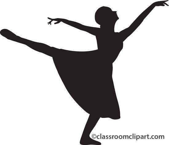 550x472 Dance Recital Clip Art