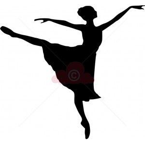 300x300 Ballet Dancer Silhouette