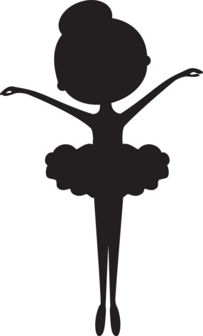 Child Dancer Silhouette