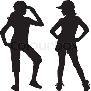 320x319 Teenager Silhouette Clipart