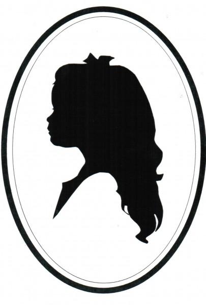 Child Head Silhouette