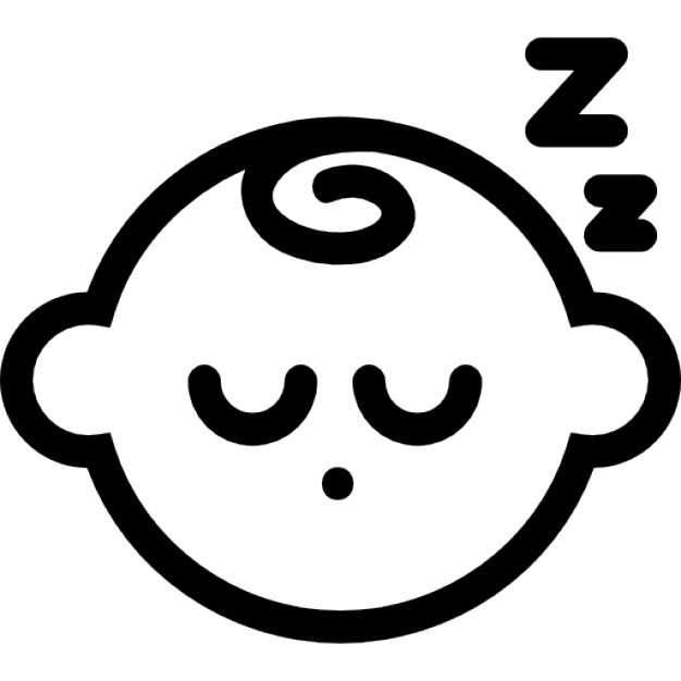 626x626 Sleeping Baby Icons Free Download