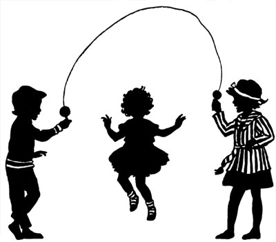 400x351 Of Children Jumping Rope