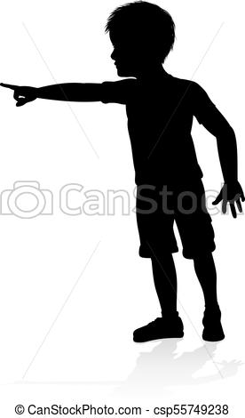 276x470 Child Kid Silhouette. A High Quality Detailed Kid Child