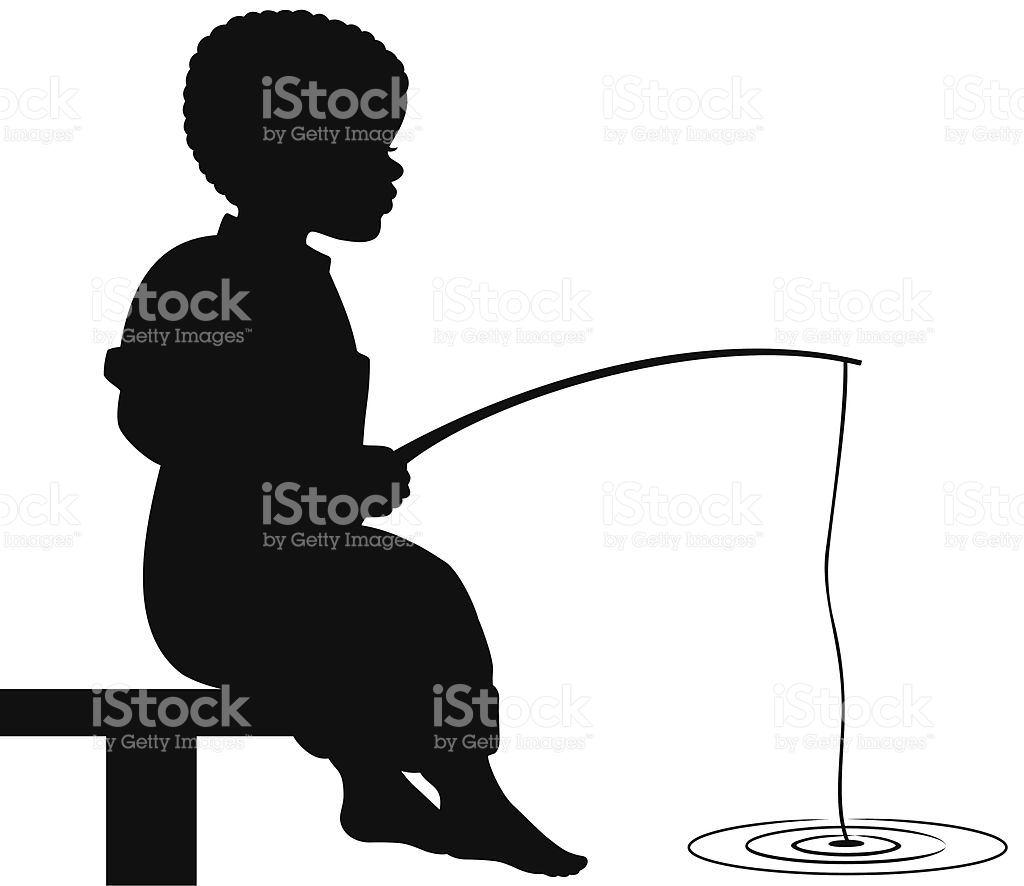 1024x886 Fishing Clipart Silhouette Boy