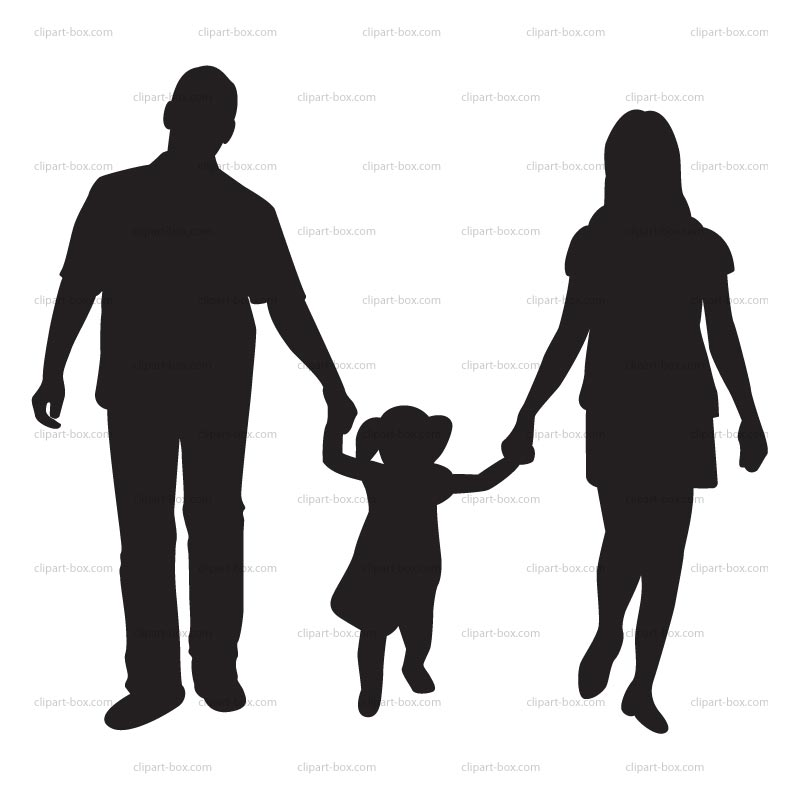800x800 Parents Silhouette Clipart Collection