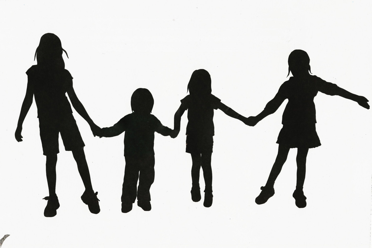 1425x950 Child Silhouette Clip Art Children Clipart Silhouette 7