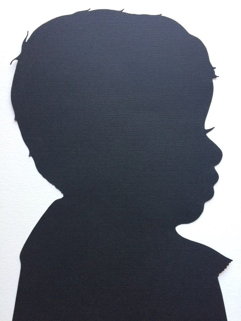 768x1024 Custom Hand Cut Silhouette Portrait Silhouettes And Parent Gifts