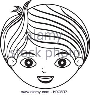 304x320 Young Boy Drawing Avatar Character Stock Vector Art Amp Illustration