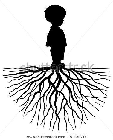 378x470 Children Silhouette Stencils