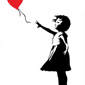 354x354 Shop Banksy Sticker On Wanelo