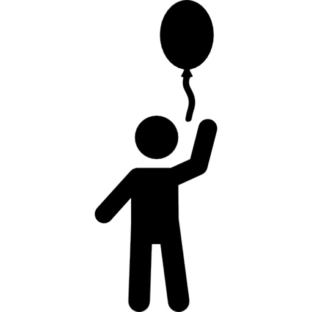 626x626 Child With A Balloon Icons Free Download