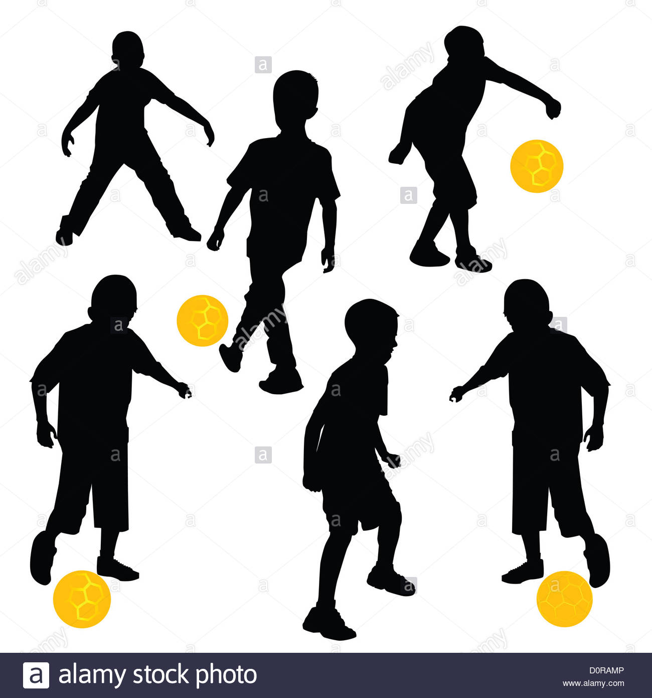 1300x1390 Children Playing Football Cut Out Stock Images Amp Pictures