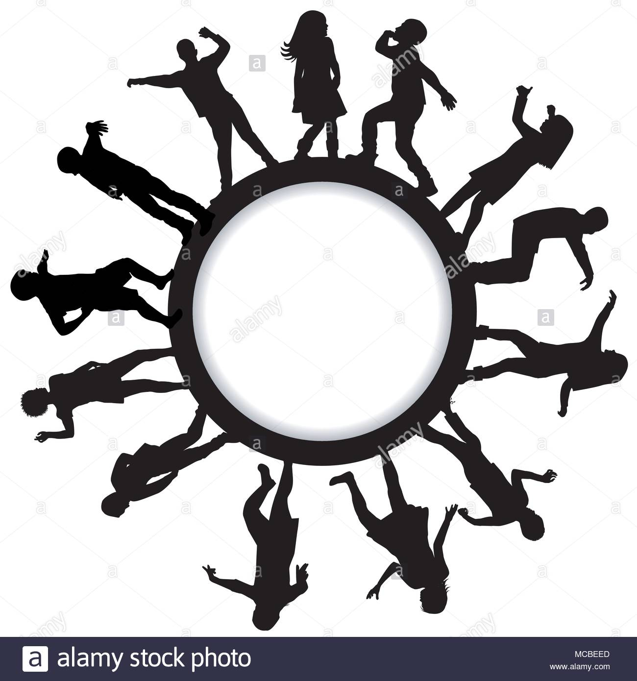 1300x1390 Circle Of Children Silhouette Stock Photos Amp Circle Of Children