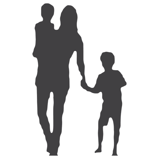 512x512 Mothers Day Silhouette With Kids