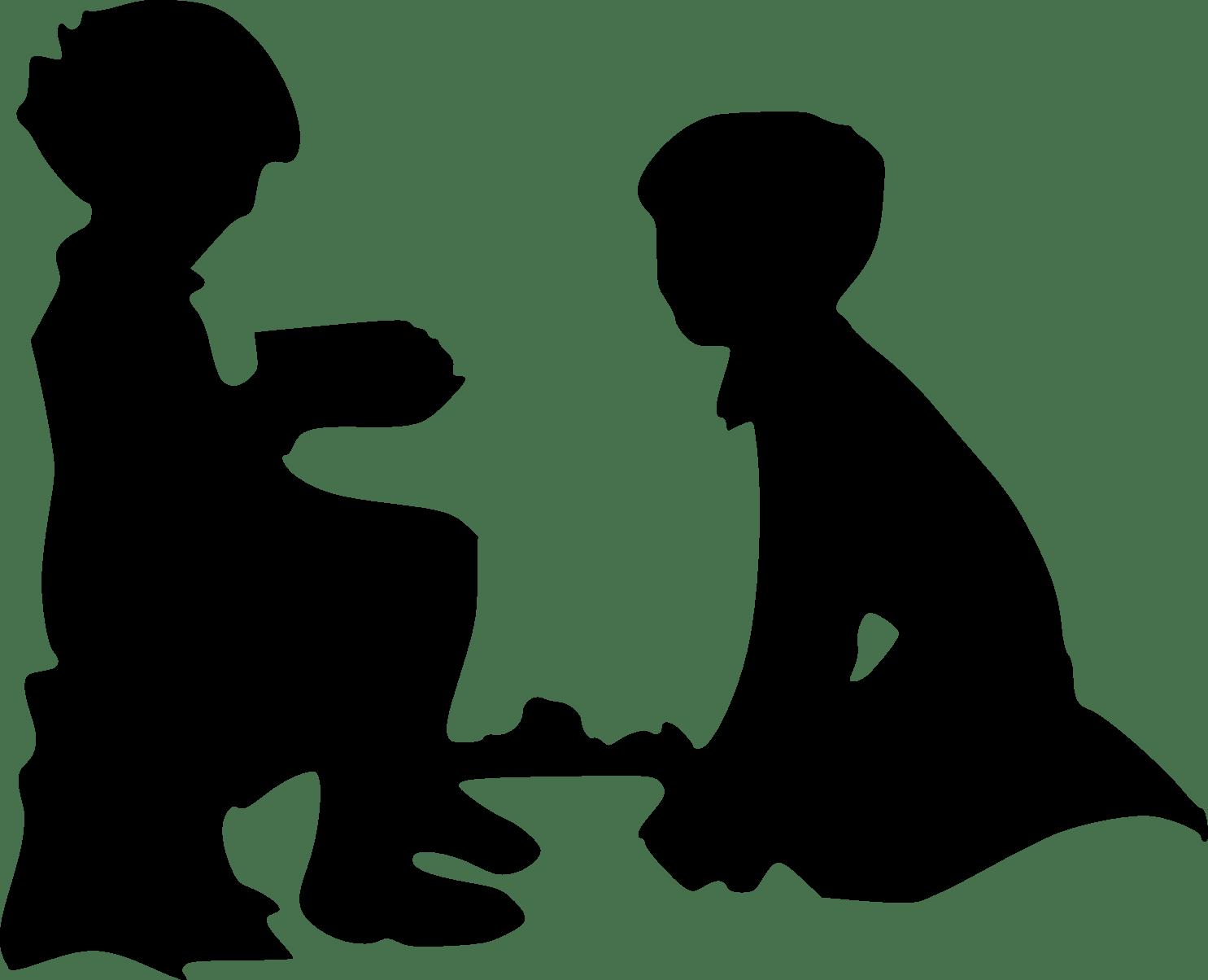 1485x1204 Child Silhouette Clip Art