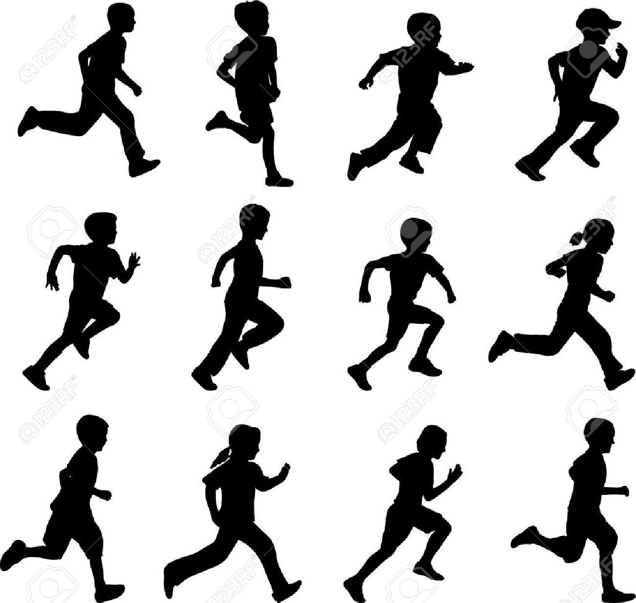 1300x1232 Children Running Clipart