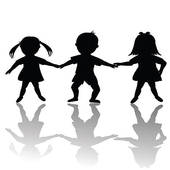 170x170 Happy Children Silhouettes Clipart Panda