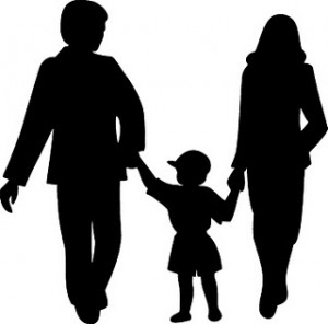 Children Silhouette Clipart