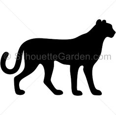 236x234 Tiger Silhouette Room Decorations Tigers