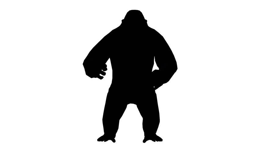 852x480 Chimp Amp Chimpanzee Run,endangered Wild Monkey Animal Running