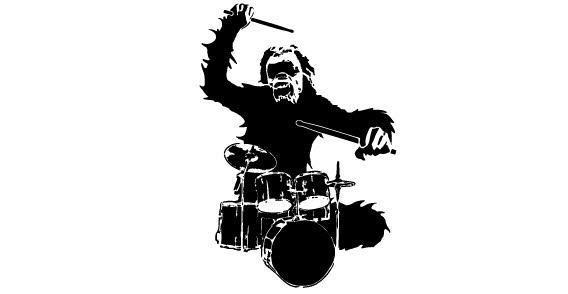 568x294 Chimpanzee Monkey Free Vector 123freevectors