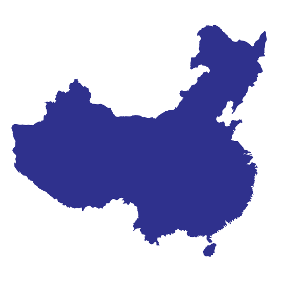 550x550 China Map Icon