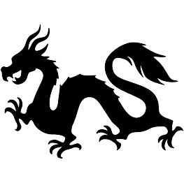263x262 New Silhouettes Chinese Dragon, Christmas Angel, And More