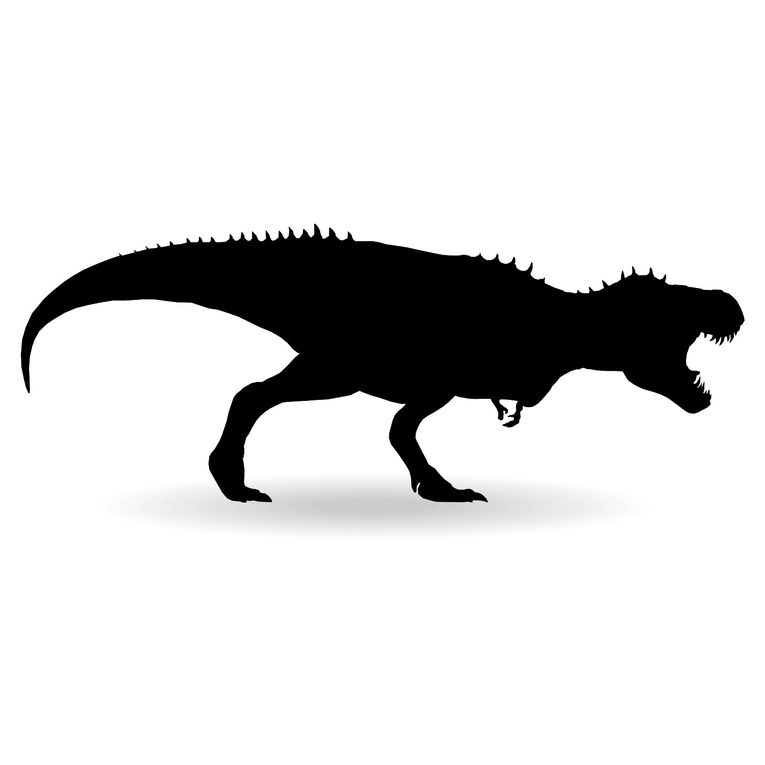 1500x1500 T Rex Dinosaur Silhouette Clipart China Cps Unusual Simple Endear