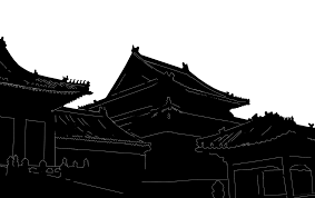 283x178 China Silhouette Png