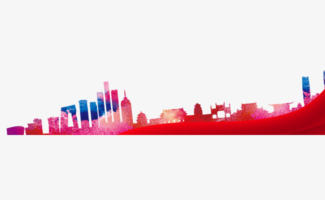 650x400 City Silhouette, China Red, Building, China Png And Psd File
