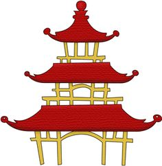 236x242 How To Draw Chinese Pagoda