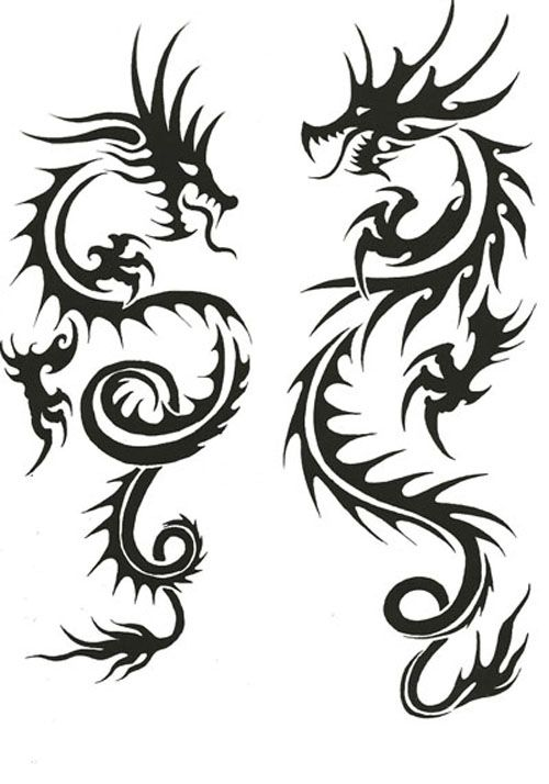 500x714 273 Best Dragon Ink Tattoos Images On Dragon Tattoos