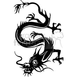 300x300 Royalty Free Chinese Dragons 003 383865 Vector Clip Art Image