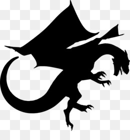 260x280 Free Download Dragon Silhouette