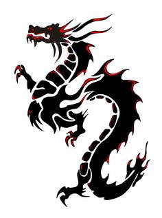 236x317 Chinese Dragon Head Tattoo