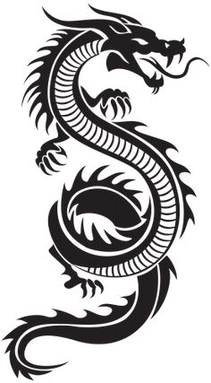236x427 Stencil Chinese Dragon Stencil By ~beraka On Cool