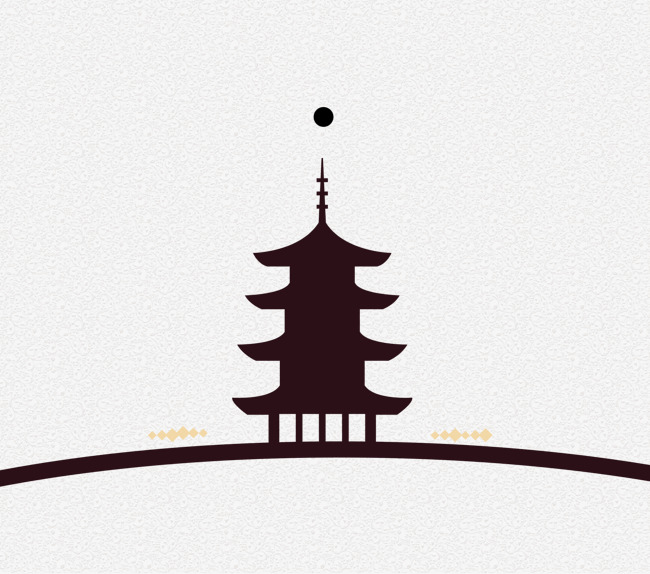 650x574 Silhouette Of Chinese Ancient Architecture, Ancient Architecture
