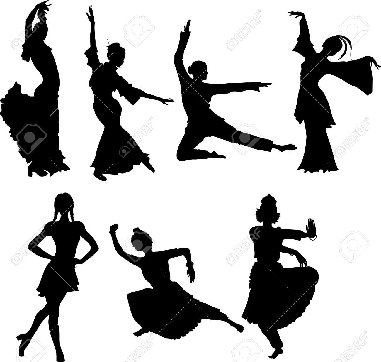 1300x1234 Folk Clipart Chinese Dance