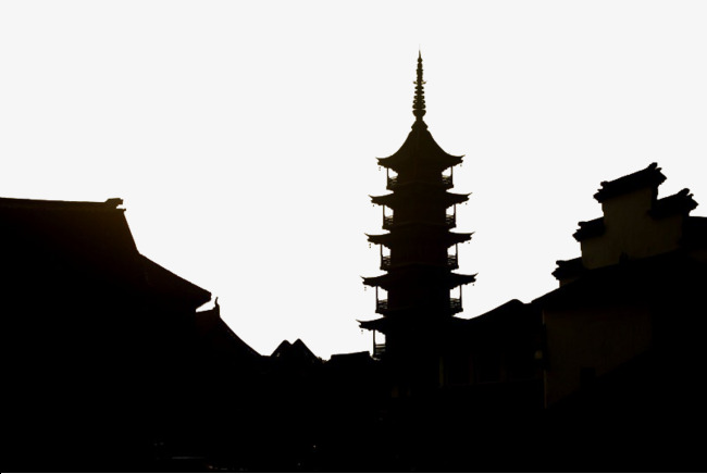 650x436 Ancient Town Of Ancient Tower, Chinese Style, Town, Eaves Png