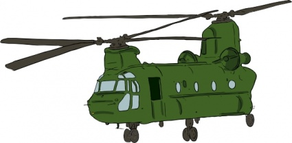 425x208 Chinook Helicopter Clip Art Vector, Free Vector Graphics